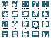 Icondesign, Vector Images, Vector Icons, Icons for Webdesign, Symbols for Websites, Icons Examples, Buttons Design