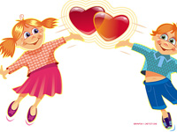 beloved, blue, card, cartoon, celebration, child, children, comic, couple, cupid, cute, emotion, feel, feeling, friend, friendship, funny, greet, greeting, happy, heart, illustration, kid, kids, love, purity, red, romance, romantic, smile, sweet, symbol, sympathy, valentine, valentines, yellow